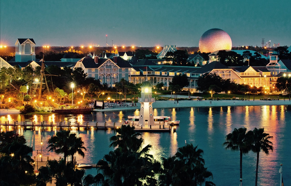 Beach Club View of EPCOT